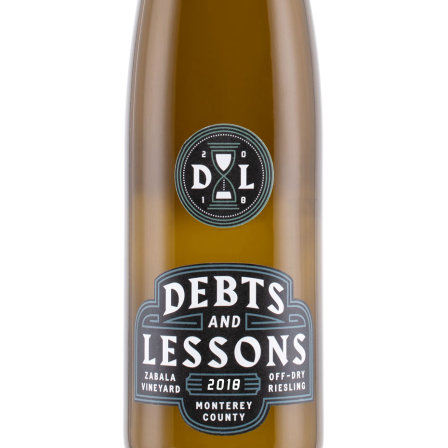 2018 Debts & Lessons Riesling