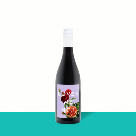 2019 Loves Me Not Red Blend 12625 by Winc wine subscription