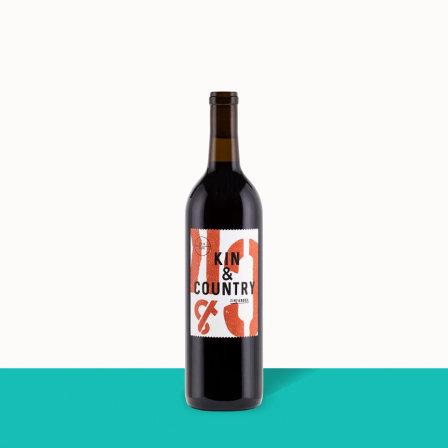 2019 Kin & Country Zinfandel 12648 by Winc wine subscription